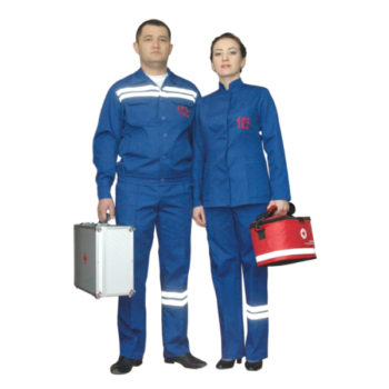 Костюм для работников скорой медицинской помощи весна-осень женский модель 0412