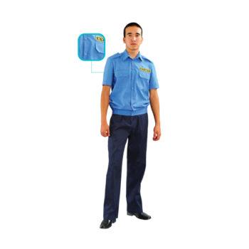 Сорочка мужская летняя «Охранник»
